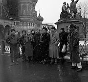 Brinsley Ford, David Byrne, Peter Gabriel and The Edge U2, Chrissy Hynde, Annei Lennox in Red Square - Greenpeace 1989