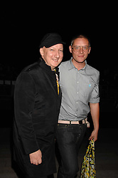 Left to right, STEPHEN JONES and GILES DEACON at the Moet Mirage Evening at Holland Park Opera House, London W8 on 16th September 2007.<br /><br />NON EXCLUSIVE - WORLD RIGHTS