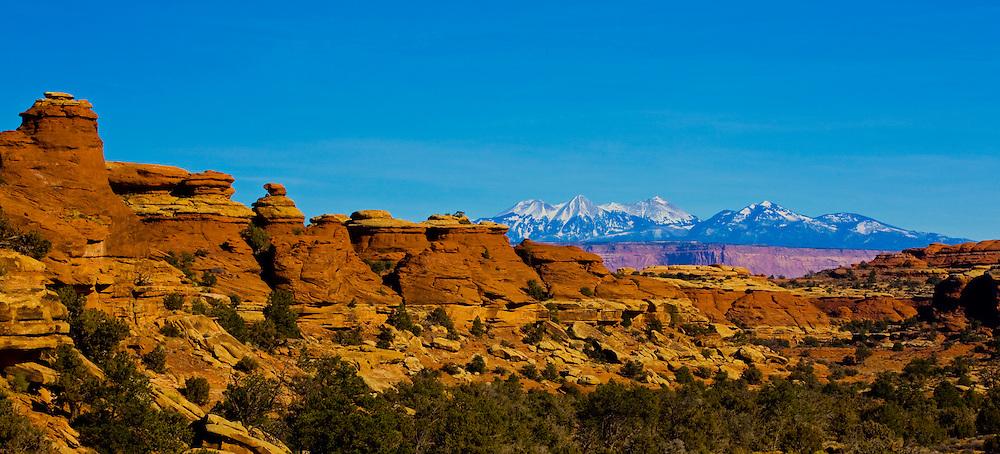 Needles Pano 02 - Canyonlands National Park, UT
