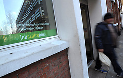 General view of a Job Centre Plus in Westminster, London as the number of people claiming jobseeker's allowance has fallen to a near two-year low after a huge increase in employment, new figures showed today.