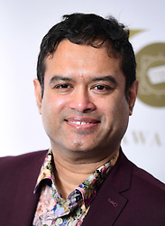 Paul Sinha attending the TRIC Awards 2019 50th Birthday Celebration held at the Grosvenor House Hotel, London.