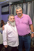 Shlomo Lahiani (right) Mayor of Bat Yam, Israel