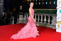 Scarlett Johansson attending the 73rd British Academy Film Awards held at the Royal Albert Hall, London.