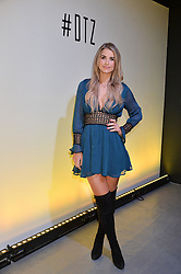 LONDON, ENGLAND 6 DECEMBER 2016: <br /> Vogue Williams at the Fabergé Visionnaire DTZ Launch held on the 39th Floor Penthouse, South Bank Tower, Upper Ground, London, England. 6 December 2016.