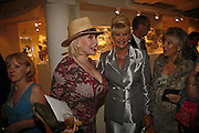 Faith Brown and Ivana Trump, Gala champagne reception and dinner in aid of CLIC Sargent.  Grosvenor House Art and Antiques Fair.  Grosvenor House. Park Lane. London. 14 June 2006. ONE TIME USE ONLY - DO NOT ARCHIVE  © Copyright Photograph by Dafydd Jones 66 Stockwell Park Rd. London SW9 0DA Tel 020 7733 0108 www.dafjones.com