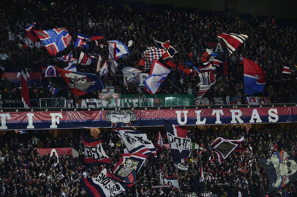 November 6, 2019, Paris, France, France: supporters du PSG - Ambiance (Credit Image: © Panoramic via ZUMA Press)