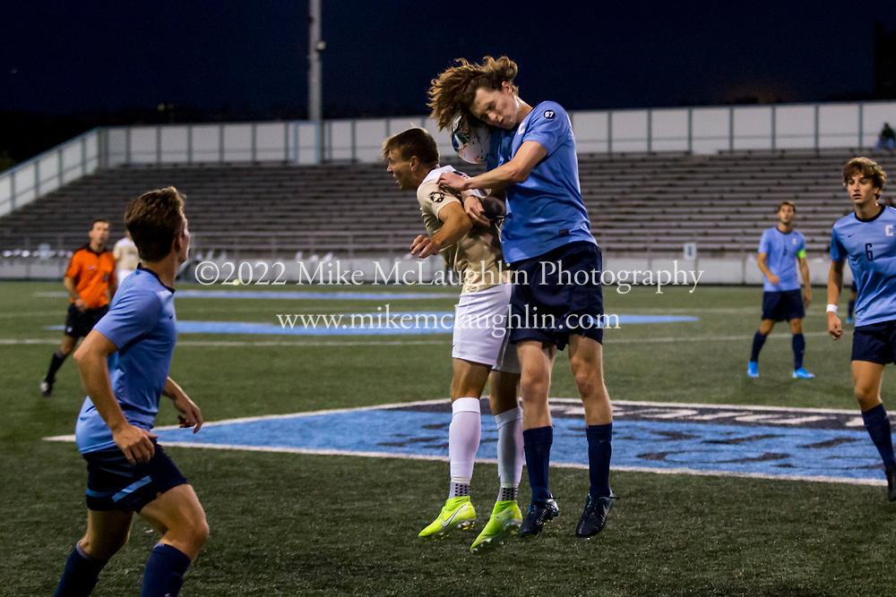 September 13, 2019 New York, NY<br /> Columbia University men's soccer v. Army<br /> 2019 Mike McLaughlin<br /> https://mclaughlin.photoshelter.com/<br /> Mike McLaughlin