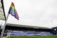A general view of Portman Road, home of Ipswich Town, with a rainbow corner flag supporting LGBT inclusivity<br /> <br /> Photographer Chris Vaughan/CameraSport<br /> <br /> The EFL Sky Bet League One - Ipswich Town v Blackpool - Saturday 23rd November 2019 - Portman Road - Ipswich<br /> <br /> World Copyright © 2019 CameraSport. All rights reserved. 43 Linden Ave. Countesthorpe. Leicester. England. LE8 5PG - Tel: +44 (0) 116 277 4147 - admin@camerasport.com - www.camerasport.com