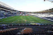 Hull City KC Stadium before the Sky Bet Championship match between Hull City and Charlton Athletic at the KC Stadium, Kingston upon Hull, England on 16 January 2016. Photo by Ian Lyall.