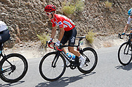 Michal Kwiatkowski (POL - Team Sky) red jersey, during the UCI World Tour, Tour of Spain (Vuelta) 2018, Stage 5, Granada - Roquetas de Mar 188,7 km in Spain, on August 29th, 2018 - Photo Luis Angel Gomez / BettiniPhoto / ProSportsImages / DPPI