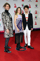 Monsieur Perine attending the 19th Annual Latin Grammy Awards 2018, MGM Grand Garden Arena, MGM Grand Hotel & Casino in Las Vegas