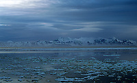 Fjell, hav og drivis, mountains, the sea and sea ice