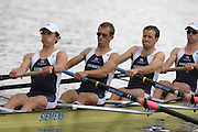 Amsterdam, HOLLAND, GBR LM4-, Bow Richard CHAMBERS, James LINDSAY-FYNN, Paul MATTICK and James CLARKE, at the 2007 FISA World Cup Rd 2 at the Bosbaan Regatta Rowing Course. 23.06.2007[Mandatory Credit: Peter Spurrier/Intersport-images]...... , Rowing Course: Bosbaan Rowing Course, Amsterdam, NETHERLANDS