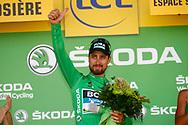 Podium, Peter Sagan (SVK - Bora - Hansgrohe) during the 105th Tour de France 2018, Stage 11, Alberville - La Rosiere Espace Bernardo (108,5 km) on July 18th, 2018 - Photo Luca Bettini / BettiniPhoto / ProSportsImages / DPPI