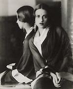 Amrita Shergil, artist and painter, India, 1929