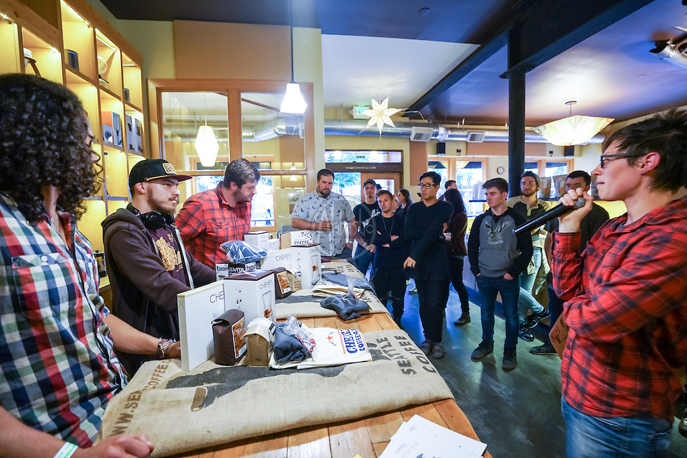Seattle Coffee Works Latte Art Throwdown 2016. Photo by Alabastro Photography.