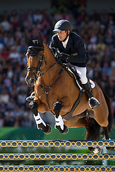 Sam Griffiths, (AUS), Paulank Brockagh - Jumping Eventing - Alltech FEI World Equestrian Games™ 2014 - Normandy, France.<br /> © Hippo Foto Team - Leanjo De Koster<br /> 31-08-14