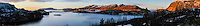 Norway, Sør-Trøndelag, Stokksund. Stitched panorama from Lian.