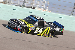 November 16, 2018 - Homestead, FL, U.S. - HOMESTEAD, FL - NOVEMBER 16: Justin Haley, driver of the Fraternal Order of Eagles Chevrolet, during practice for the NASCAR Camping World Series playoff race, the Ford EcoBoost 200 on November, 16, 2018, at Homestead - Miami Speedway in Homestead, FL. (Photo by Malcolm Hope/Icon Sportswire) (Credit Image: © Malcolm Hope/Icon SMI via ZUMA Press)