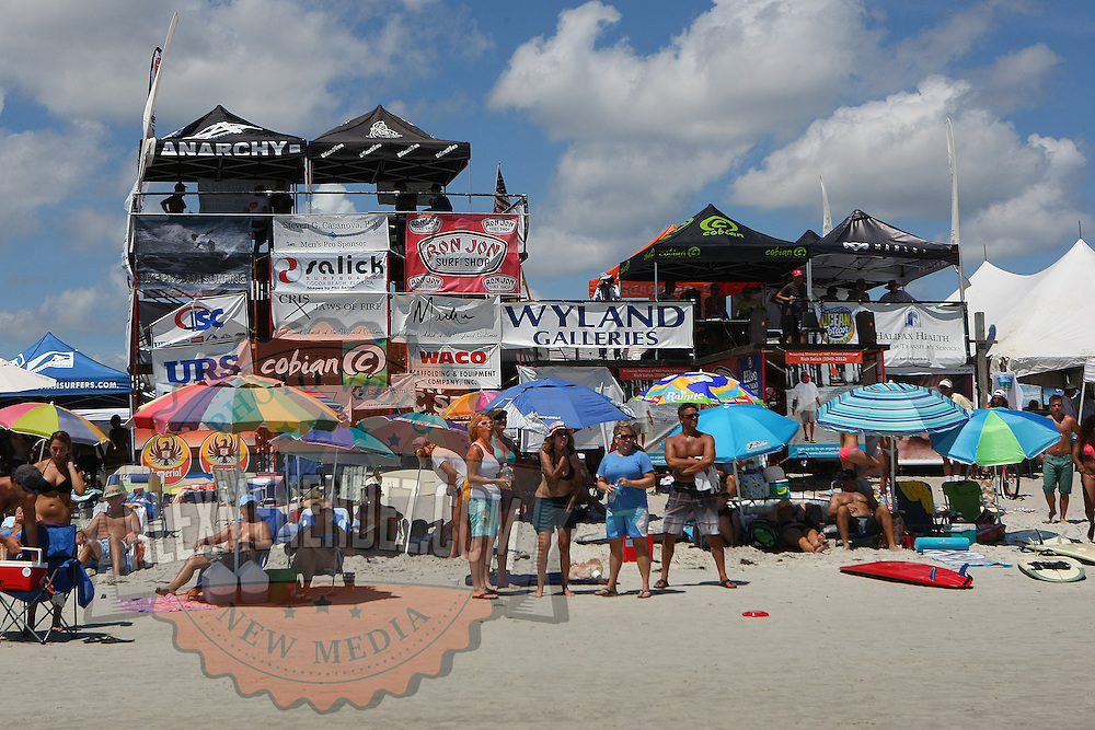 The 28th annual National Kidney Foundation, Rich Salick Pro/Am surf festival takes place at the the Cocoa Beach pier on Saturday,  September 2, 2013 in Cocoa Beach, Florida. This event raises thousands of dollars for people with kidney disease and also benefits the services of the NKF of Florida. (AP Photo/Alex Menendez)