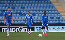 Colchester players look dejected - Mandatory by-line: Arron Gent/JMP - 29/02/2020 - FOOTBALL - JobServe Community Stadium - Colchester, England - Colchester United v Cheltenham Town - Sky Bet League Two