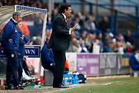 Photo: Richard Lane/Richard Lane Photography. <br /> Colchester United v Coventry City. Coca Cola Championship. 19/04/2008. City manager, Chris Coleman urges his players on.