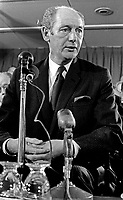 Jack Lynch, An Taoiseach, Prime Minister, Rep of Ireland, speaking at unknown function November 1970, 197011000383<br /> <br /> Copyright Image from Victor Patterson, 54 Dorchester Park, Belfast, UK, BT9 6RJ<br /> <br /> t1: +44 28 9066 1296 (from Rep of Ireland 048 9066 1296)<br /> t2: +44 28 9002 2446 (from Rep of Ireland 048 9002 2446)<br /> m: +44 7802 353836<br /> <br /> victorpattersonbelfast@gmail.com<br /> victorpatterson@me.com<br /> <br /> www.victorpatterson.com<br /> <br /> Please see my Terms and Conditions of Use at https://www.victorpatterson.com/page2<br /> It is IMPORTANT that you familiarise yourself with them.<br /> <br /> Images used on the Internet incur an additional cost and must be visibly watermarked i.e. © Victor Patterson within the body of the image and copyright metadata must not be deleted. Images used on the Internet have a size restriction of 4kbs and are chargeable at rates available at victorpatterson.com.<br /> <br /> This image is available only for the use of the download recipient i.e. television station, newspaper, magazine, book publisher, etc, and must not be passed on to any third party. It is also downloaded on condition that each and every usage is notified within 7 days to victorpatterson@me.com<br /> <br /> The right of Victor Patterson (or the named photographer) to be identified as the author is asserted in accordance with The Copyright Designs And Patents Act (1988). All moral rights are asserted.
