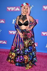 Lily Barrios attends the 2018 MTV Video Music Awards at Radio City Music Hall on August 20, 2018 in New York City. Photo by Lionel Hahn/ABACAPRESS.COM