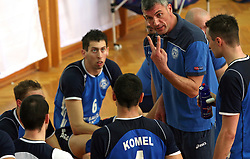 Coach of Salonit Anhovo Emanuele Fracascia at 4th and final match of Slovenian Voleyball  Championship  between OK Salonit Anhovo (Kanal) and ACH Volley (from Bled), on April 23, 2008, in Kanal, Slovenia. The match was won by ACH Volley (3:1) and it became Slovenian Championship Winner. (Photo by Vid Ponikvar / Sportal Images)/ Sportida)