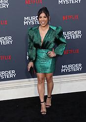 "LA Premiere Of Netflix's ""Murder Mystery"". 10 Jun 2019 Pictured: Chrissie Fit. Photo credit: Jaxon / MEGA TheMegaAgency.com +1 888 505 6342"