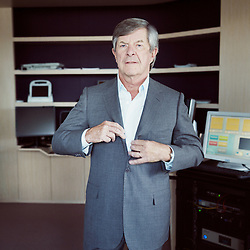 PARIS, FRANCE. SEPTEMBER 19, 2012. Jean-Louis Bouchard founder and CEO of Econocom in their office. Photo: Antoine Doyen