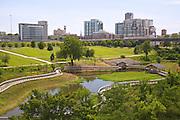 William J. Clinton Presidential Center Park, Little Rock, Arkansas, USA