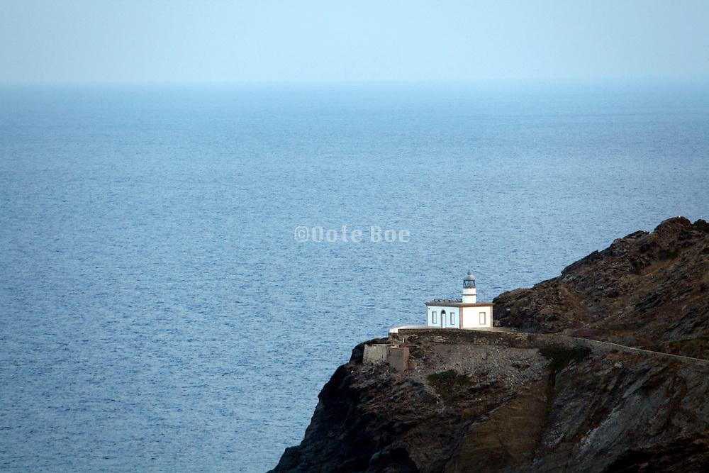 Mediterranean sea coast at Cadaques Spain