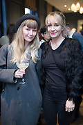 NO FEE PICTURES<br /> 12/4/18 Domino Whisker, Dublin and Emma Hewson at the launch of Jenny Huston and Leah Hewson's jewellery and fine art collaboration, Edge Only x Leah Hewson at The Dean Dublin. Arthur Carron