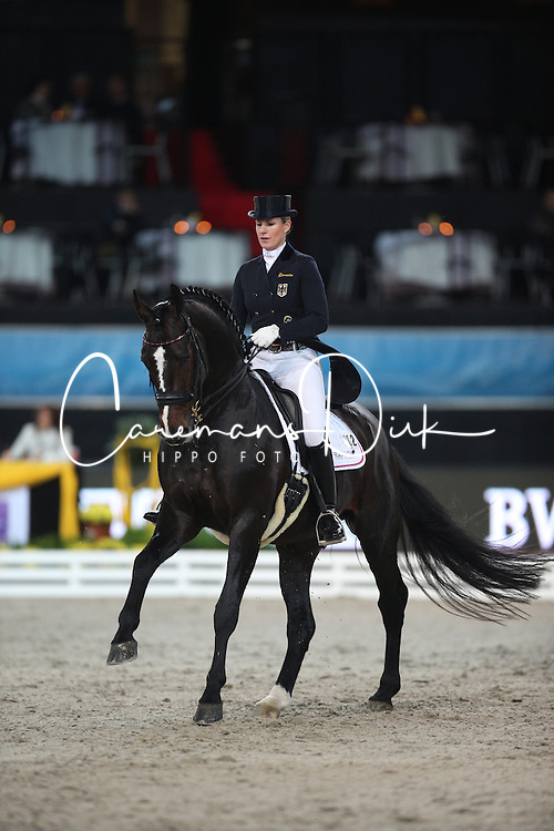 Brune Bernadette, (GER), Spirit Of The Age Old<br /> Grand Prix Dressage<br /> Stuttgart - German Masters 2015<br /> © Hippo Foto - Stefan Lafrentz