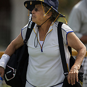 Rita Price, USA, 80 Womens Singles player during the 2009 ITF Super-Seniors World Team and Individual Championships at Perth, Western Australia, between 2-15th November, 2009.