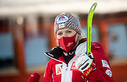 Katharina Truppe (AUT) during Ladies' Giant Slalom at 57th Golden Fox event at Audi FIS Ski World Cup 2020/21, on January 16, 2021 in Podkoren, Kranjska Gora, Slovenia. Photo by Vid Ponikvar / Sportida