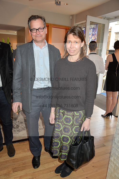 MR DANIEL & LADY SARAH CHATTO at a party to celebrate the 30th anniversary of Linley held at Linley, 60 Pimlico Road, London on 3rd May 2016.