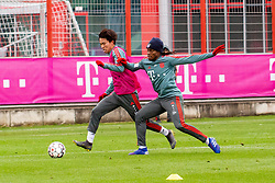 14.03.2019, Säbener Strasse, Muenchen, GER, 1. FBL, FC Bayern Muenchen vs 1. FSV Mainz 05, Training, im Bild v.l. Wooyeong Jeong (FC Bayern), Renato Sanches (FC Bayern) // during a trainings session before the German Bundesliga 26th round match between FC Bayern Muenchen and 1. FSV Mainz 05 at the Säbener Strasse in Muenchen, Germany on 2019/03/14. EXPA Pictures © 2019, PhotoCredit: EXPA/ Lukas Huter