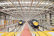 Go Ahead Group, Hitachi Train visit, Ashford, Kent - Guy Bell Photography, GBPhotos.com