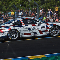 #904, PARSONS Peter of THE RACE CAR CENTRE, Porsche Carrera Cup on 17/06/2017 at the 24H of Le Mans, 2017