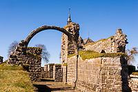 Sweden, Falköping. Gudhem Abbey ruins.