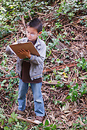 In April 2012, MLA dual immersion kindergarten students participate in Expeditionary Learning science field trip to Mills College in Oakland, California.