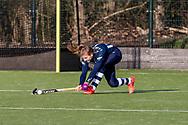 BILTHOVEN -  Hoofdklasse competitiewedstrijd dames, SCHC v hdm, seizoen 2020-2021.<br /> Foto: Margot van Hecking Colenbrander (hdm)