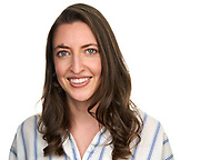 Danielle Pomeroy of Nova Partners poses for a headshot at SOSKIphoto in Hayward, California, on April 16, 2021. (Stan Olszewski/SOSKIphoto)