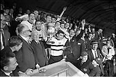 1964 - Presentation of Bradmola Cup at Tolka Park, Dublin