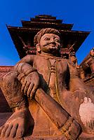 Nyatapola  Pagoda, Taumadhi Square, Bhaktapur, Kathmandu Valley, Nepal.
