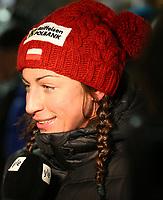 Langrenn<br /> 28.11.2012<br /> FIS World Cup<br /> Kuusamo Finland<br /> Foto: Gepa/Digitalsport<br /> NORWAY ONLY<br /> <br /> FIS Weltcup, Nordic Opening, Vorberichte, Pressekonferenz. Bild zeigt Justyna Kowalczyk (POL).