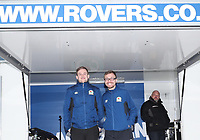BLACKBURN, ENGLAND - OCTOBER 21: Blackburn Rovers fans pre match during the Sky Bet League One match between Blackburn Rovers and Portsmouth at Ewood Park on October 21, 2017 in Blackburn, England. (Photo by Rachel Holborn - CameraSport via Getty Images)