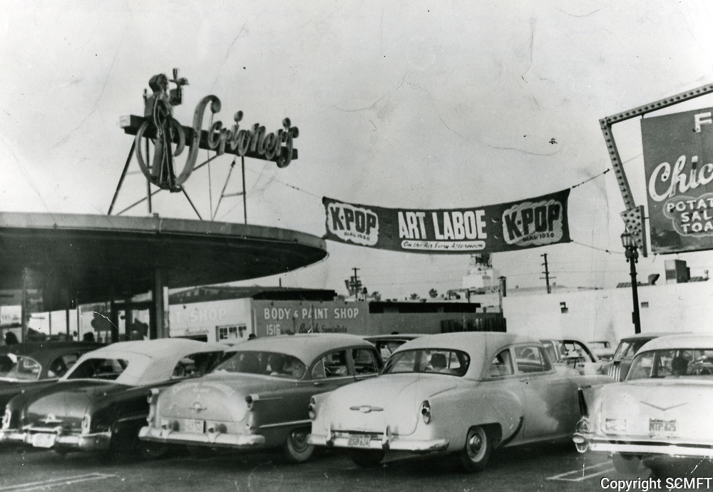 1958 Scrivner's Drive In at Sunset & Cahuenga Blvds.